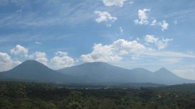 Apaneca-Ilamatepec mountain range in Western El Salvador.