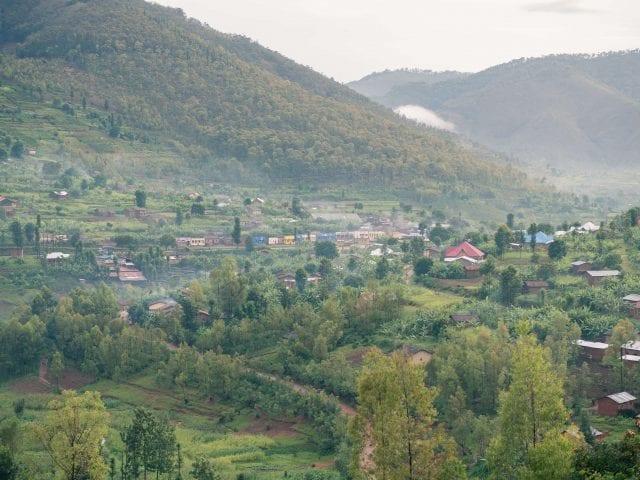 Rwandan scenery
