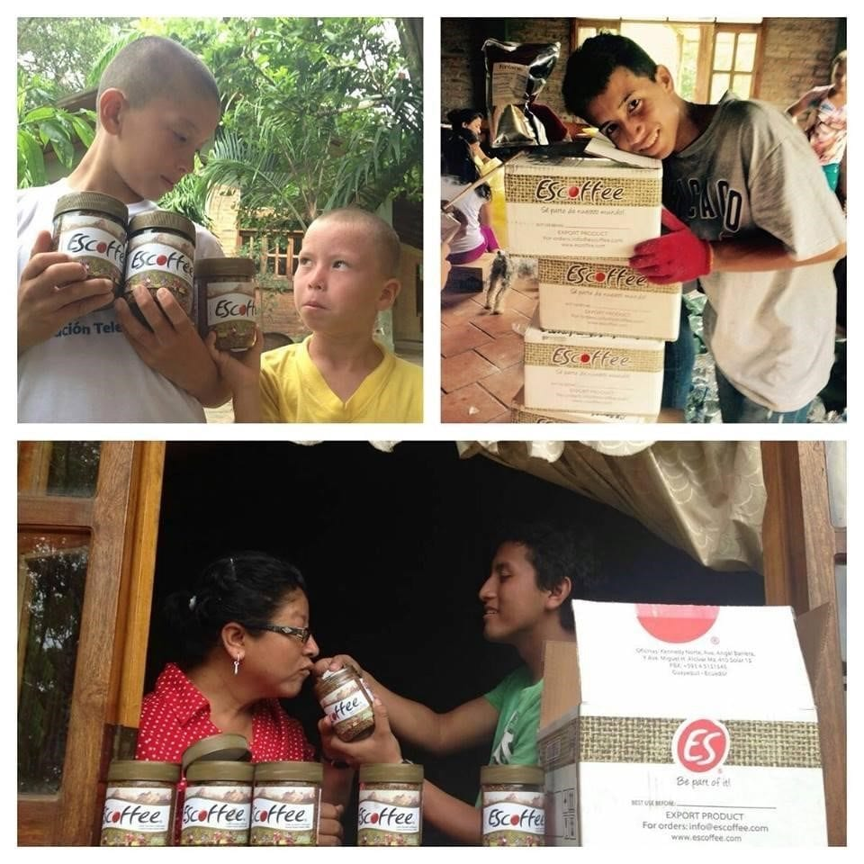 ES Coffee donating coffee to communities after the Ecuador earthquake