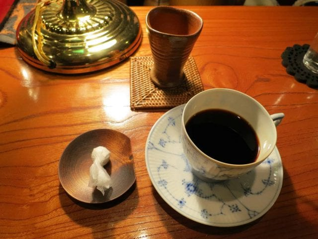 coffee in Orizuru