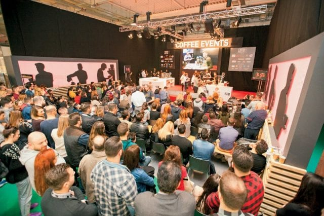 Coffee competitions at Athens Coffee Festival
