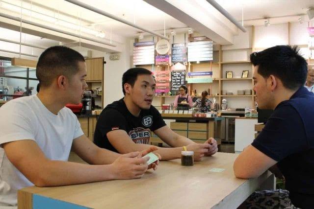 thai coffeeshop