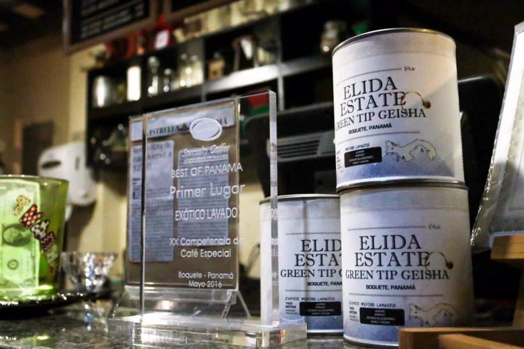 Elida Estate's trophies