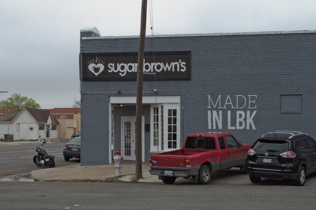 Outside of Sugar Brown's
