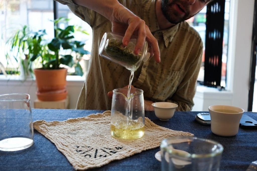 Tea Maker No 1 in use
