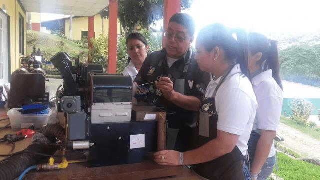 cupping school honduras