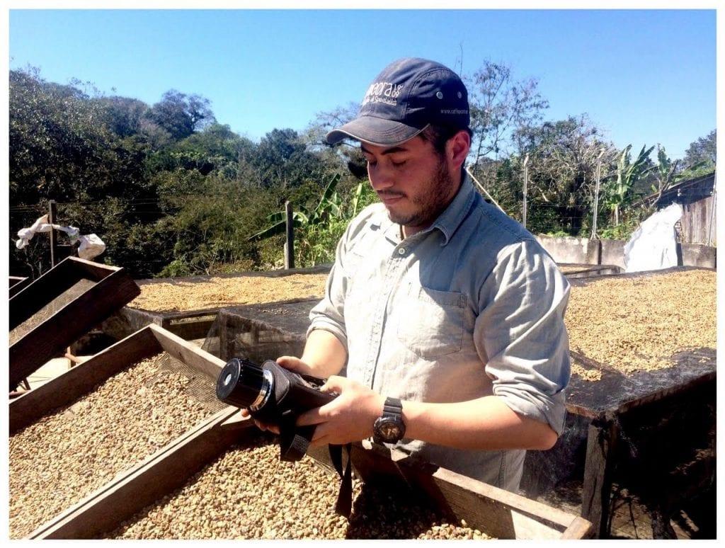 Carlos Avendano coffee mill