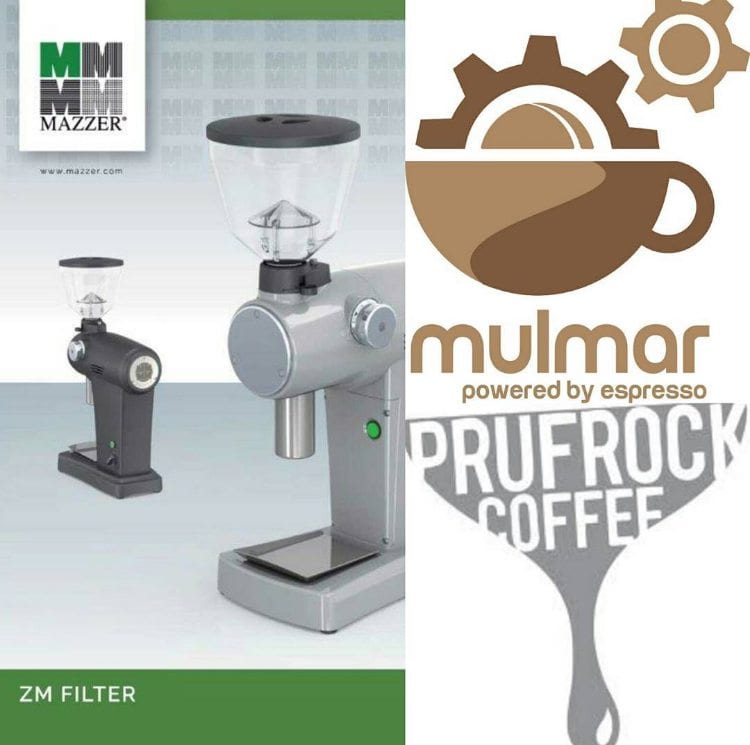 Mulmar Mazzer prizes at Prufrock Brewing Competition