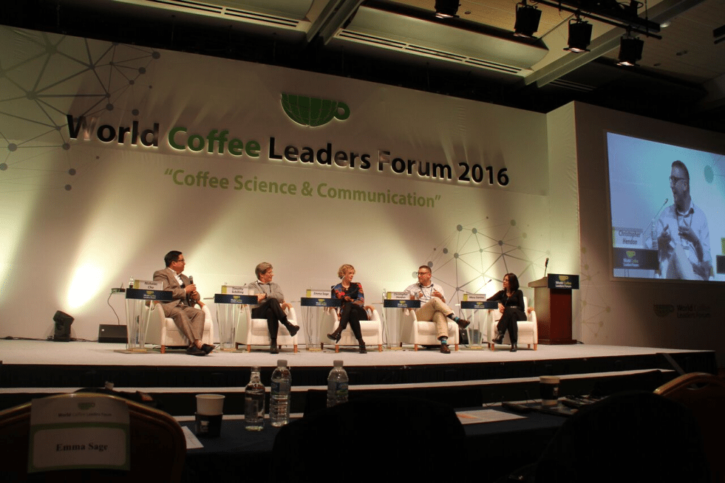 World Coffee Leaders Forum 2016 panel discussion