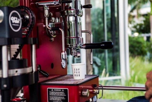 Espresso machine - Coffee Hub