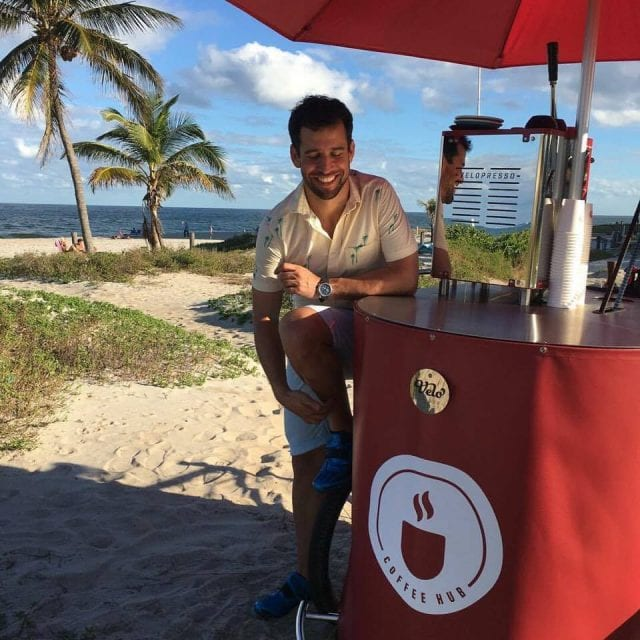 Coffee cart
