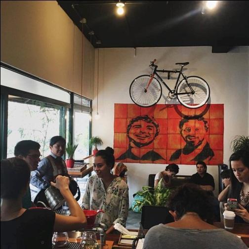 Coffee shop Rojo Cerezo