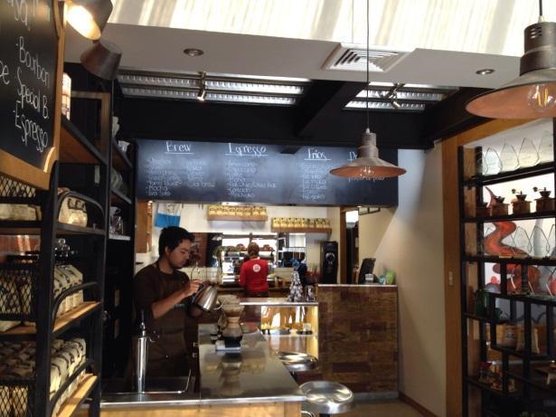 Coffee shop in Guatemala