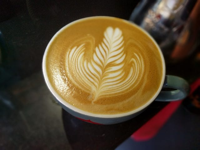 Latte art cup