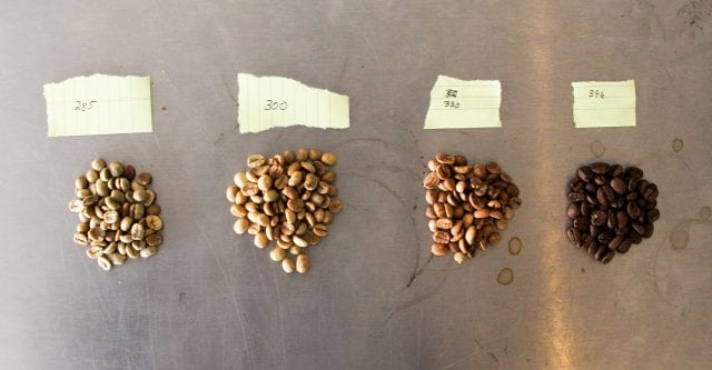coffee experimentation