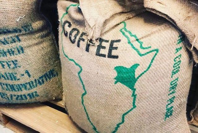 Kenyan coffee production