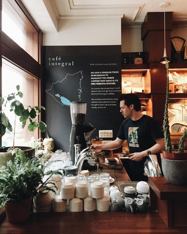specialty coffee shop