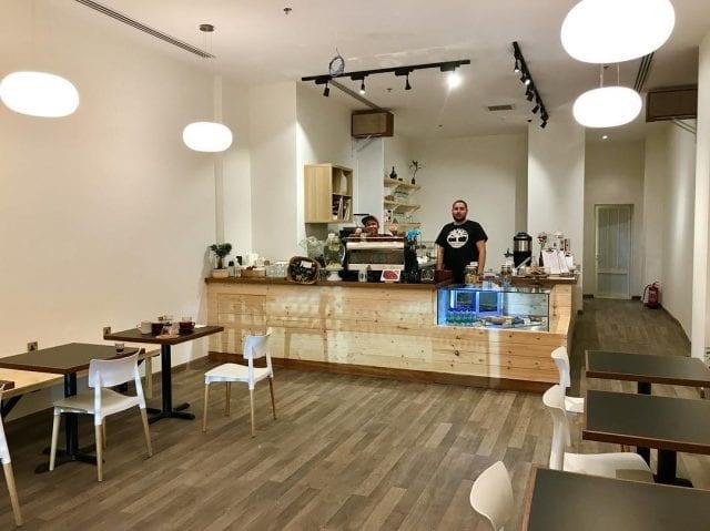 expansion de tienda de cafe