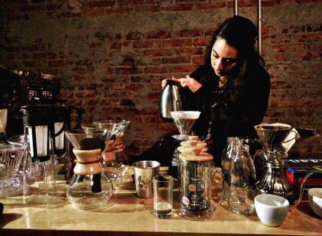 coffee brewing