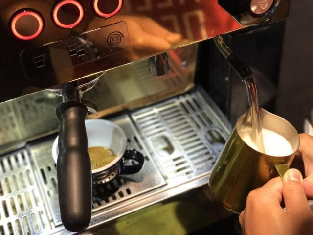 milk steaming