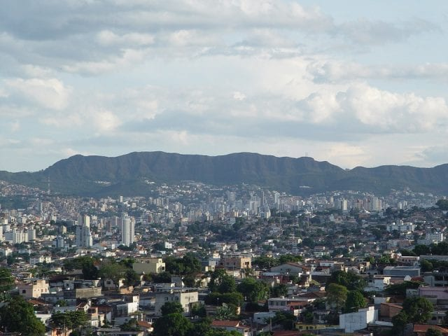 View of Belo Horizonte, Brazil