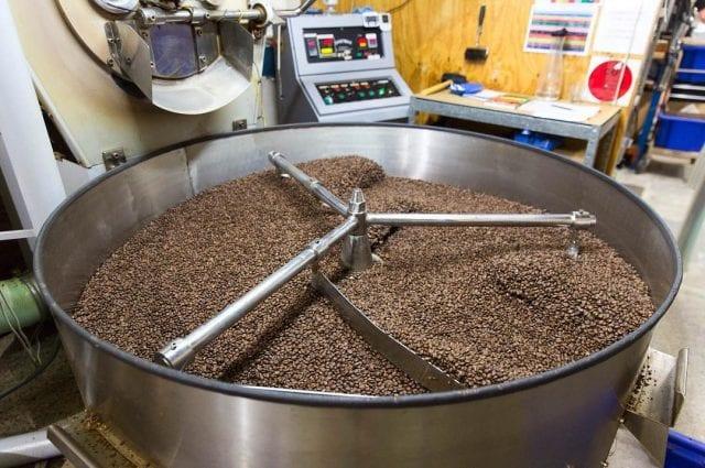 bandeja de torra de café