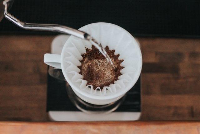 os sabores do café extraído na Kalita