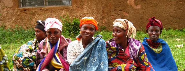 Group of woman producers in their farm