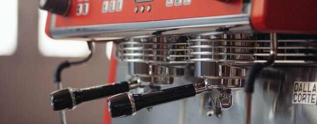 Dalla Corte espresso machine portafilter