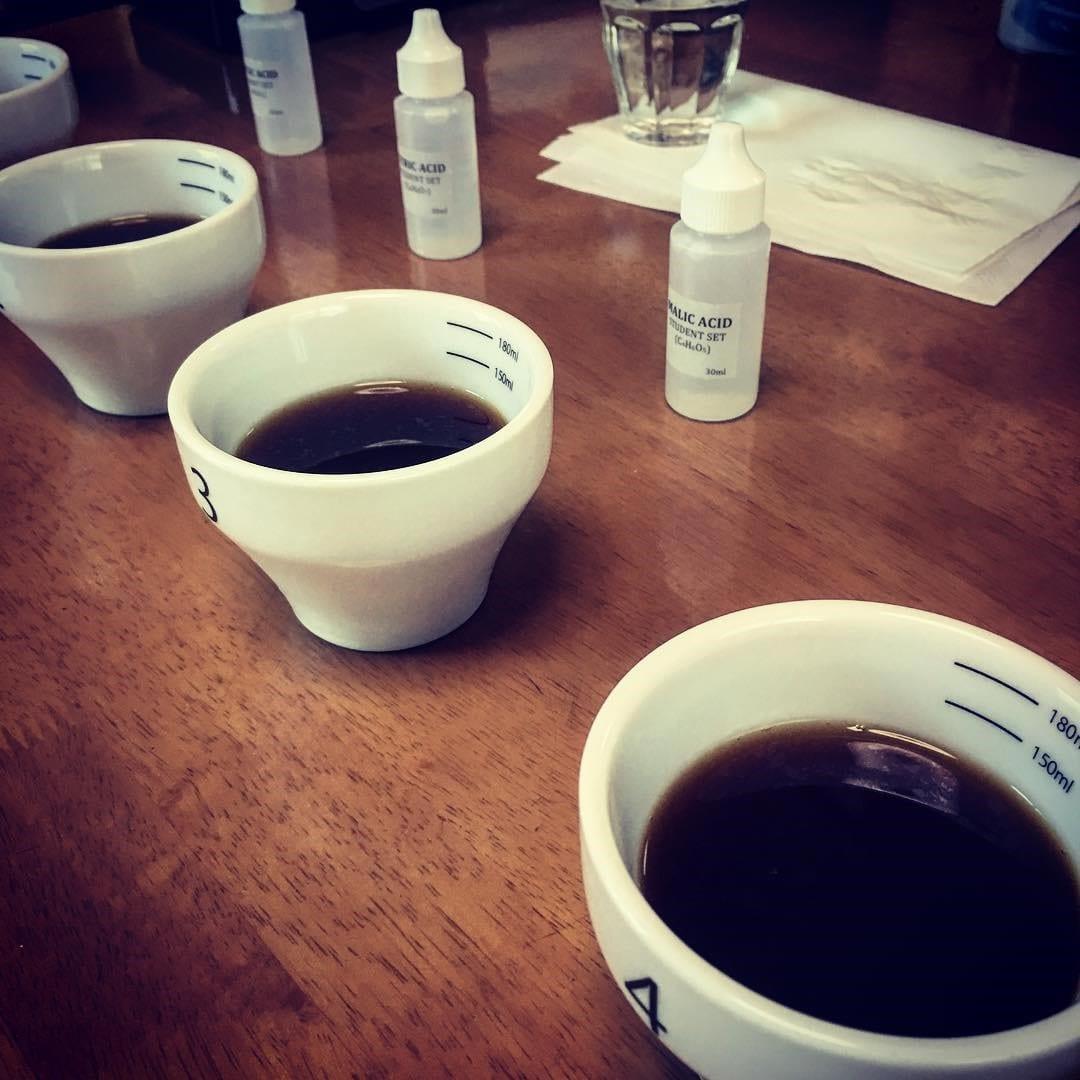 acids tasting