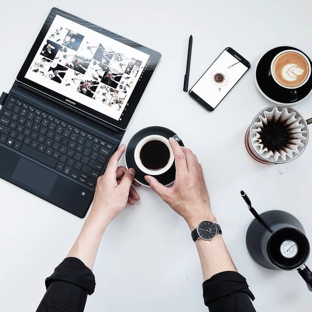 coffee and marketing
