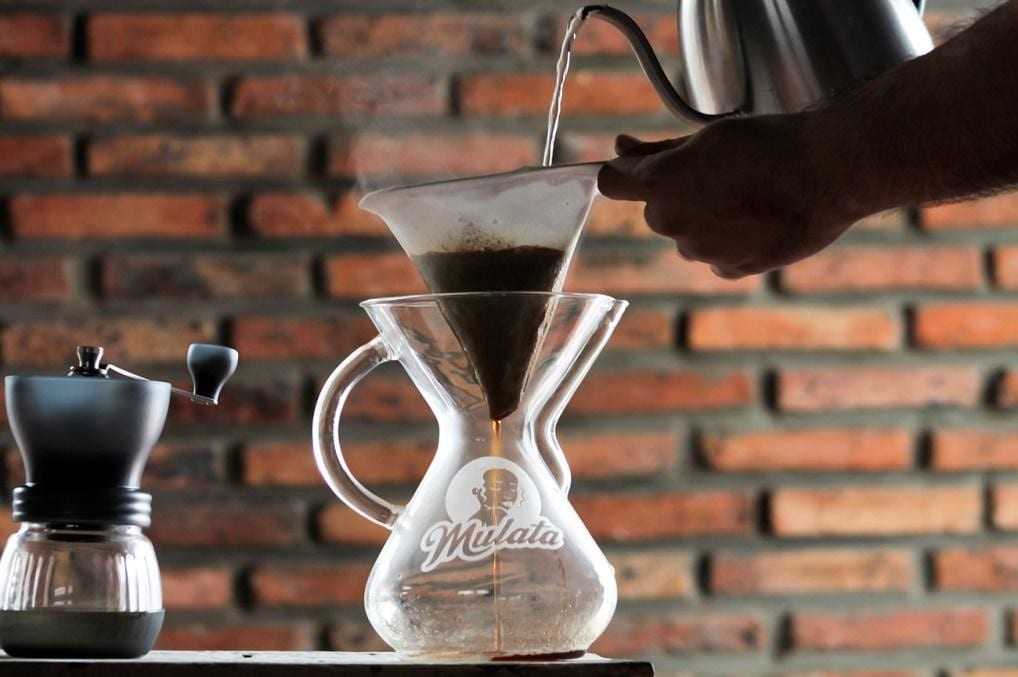 Blending specialty coffee