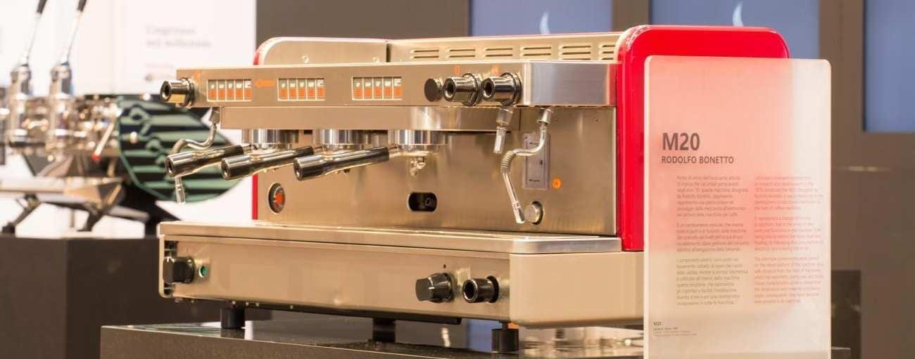 Rodolfo Bonetto coffee machine In the MUMAC in Milan