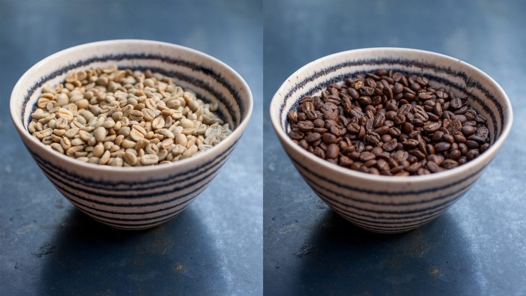 café ideal para a sua torrefação