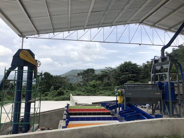 Coffee mill, Lirios de Belén in Guatemala.