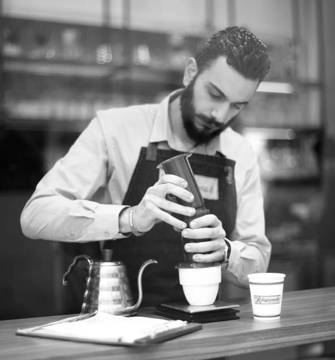 café para competição