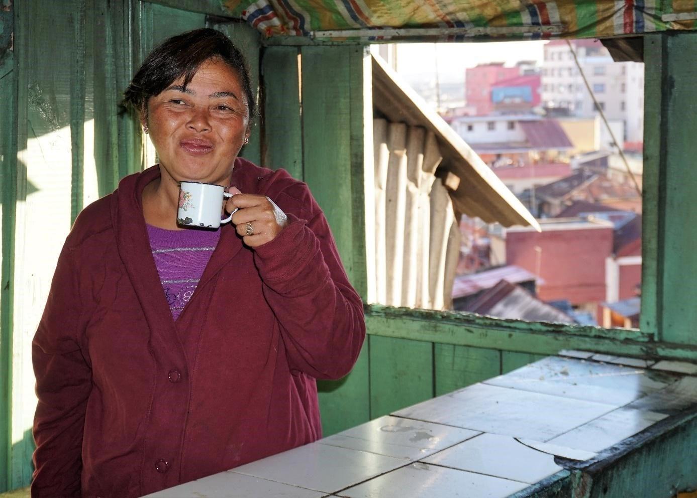coffee seller