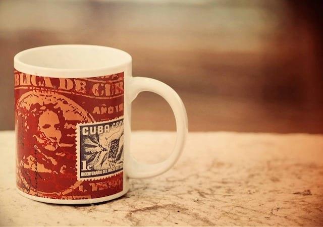 taza de cafe preparada en cuba