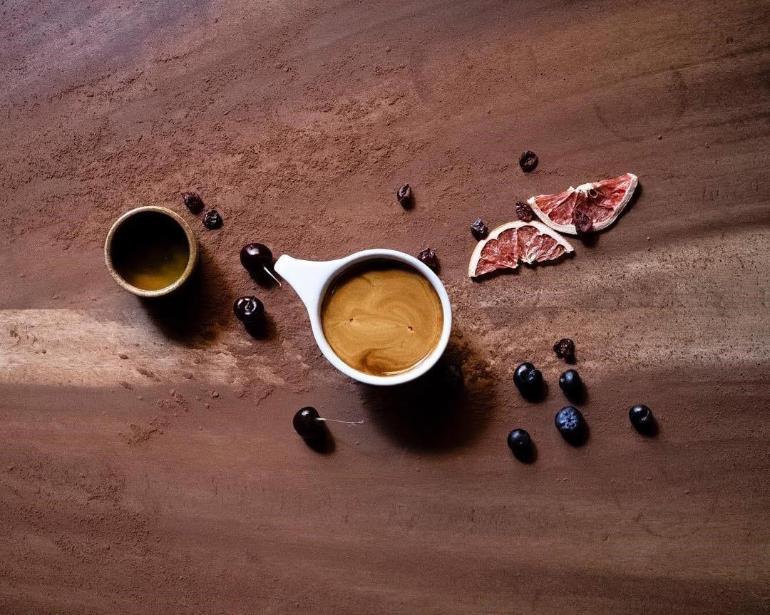notas de sabor do café