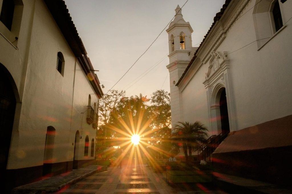atardecer en Honduras