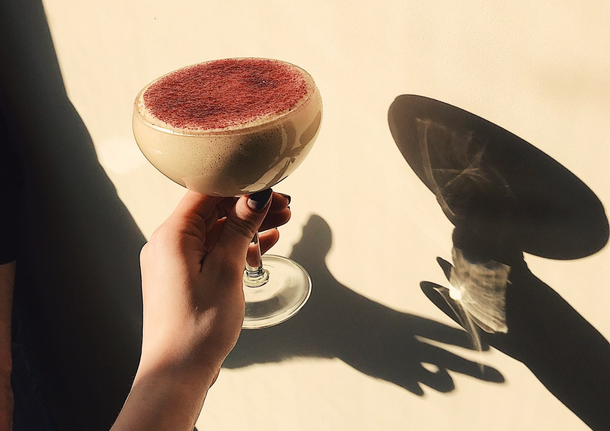 an alternative coffee beverage