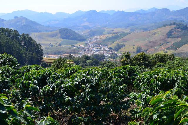 farm views in Brazil