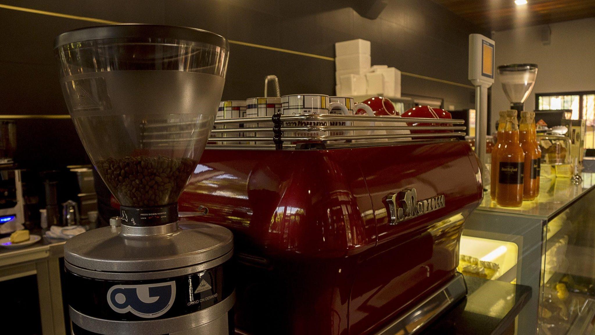 máquina de espresso la marzocco
