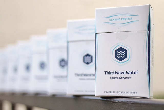 Third wave water mineral supplement