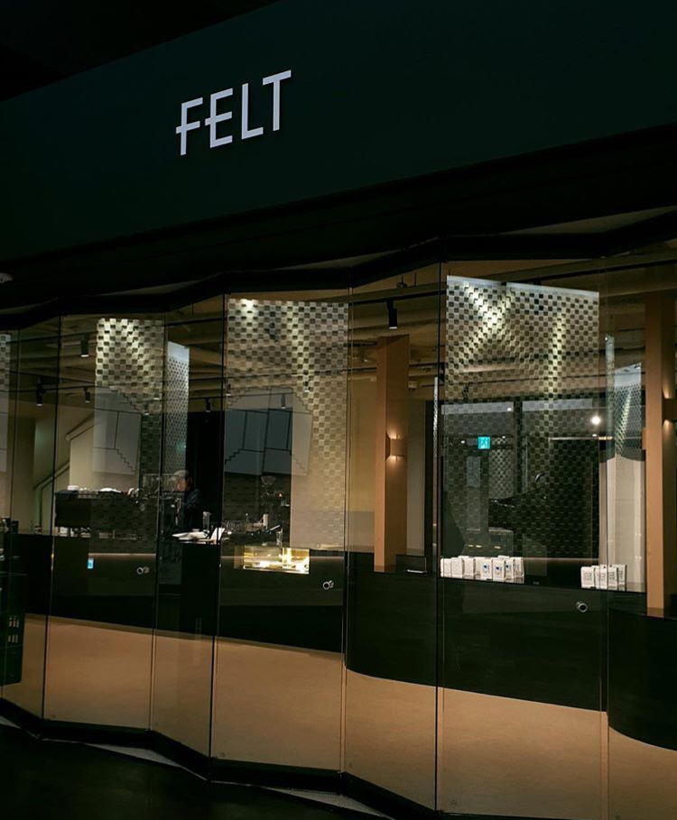 view of felt coffee shop from outside