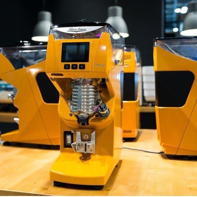 mythos 2 yellow coffee grinder