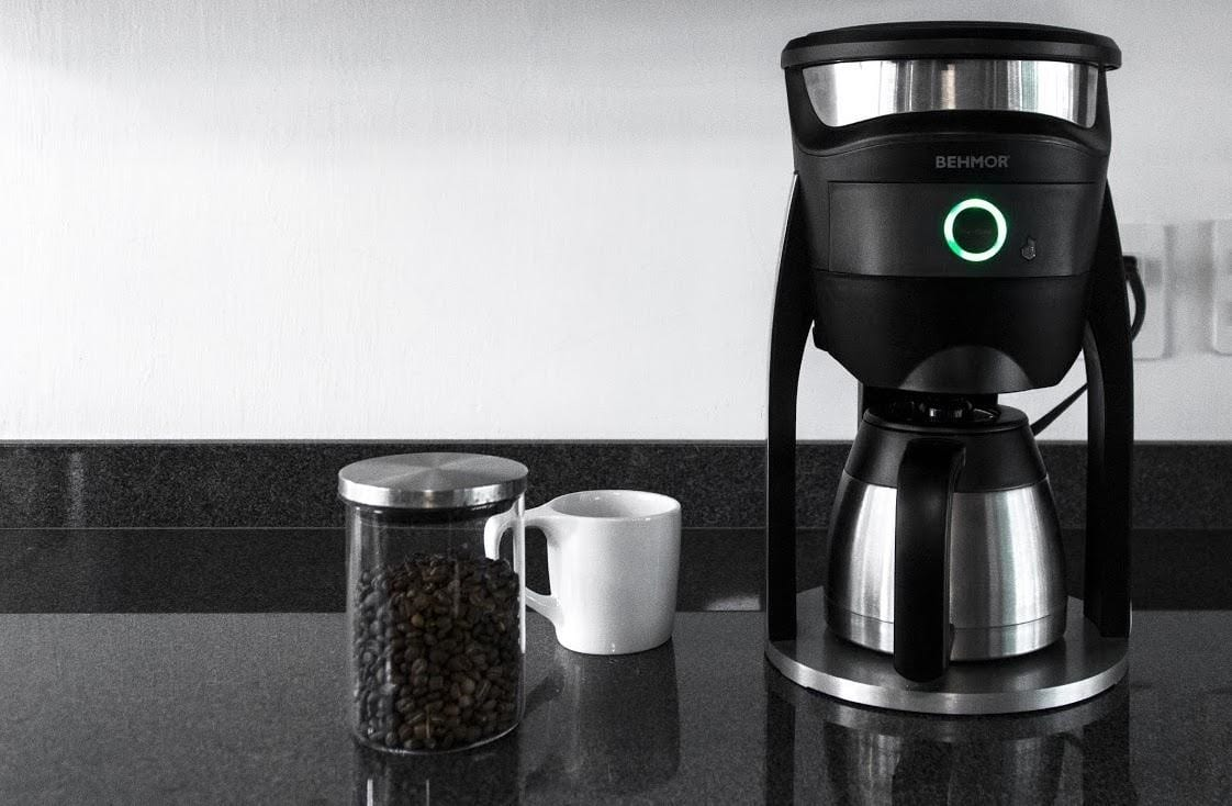 a coffee brewer that can be connected to your smartphone
