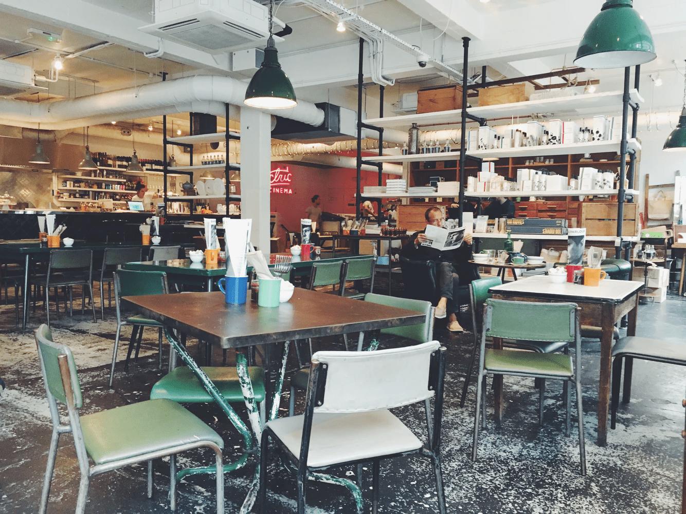 cafeteria de sucesso