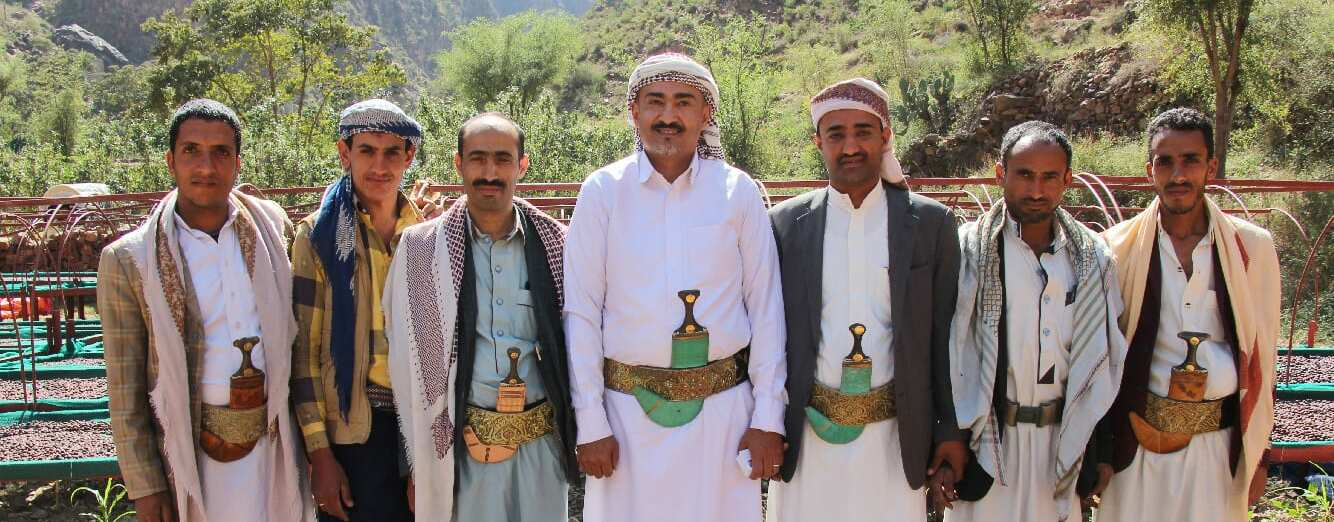 Coffee producers from Yemen