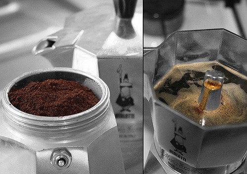 bialetti moka pot moka expresso coffee experiment brewing